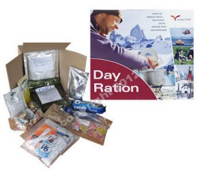 All day ration packs