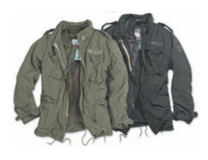 US Army jackets vintage stone washed
